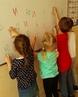 Учимся играя и с большим интересом😉🙌Наши ребятки на курсе Обучение чтению А ваши детки с интересом ходят на занятия по подготов