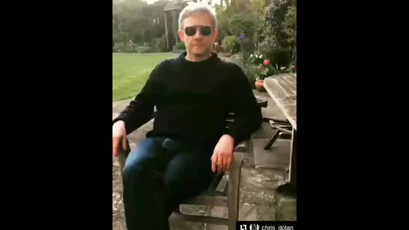 Martin Freeman is voting for the villa view