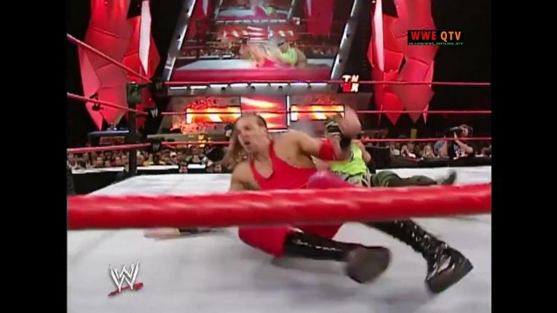 [WWE QTV]☆[WWE RAW[Фоменко]14.10.02]Крис Джерико и Кристиан против Кейн и Ураган]720]