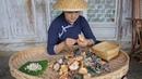 原汁原味野生菌,加上最基本的佐料烹饪,保留大自然的鲜美【滇西小21733