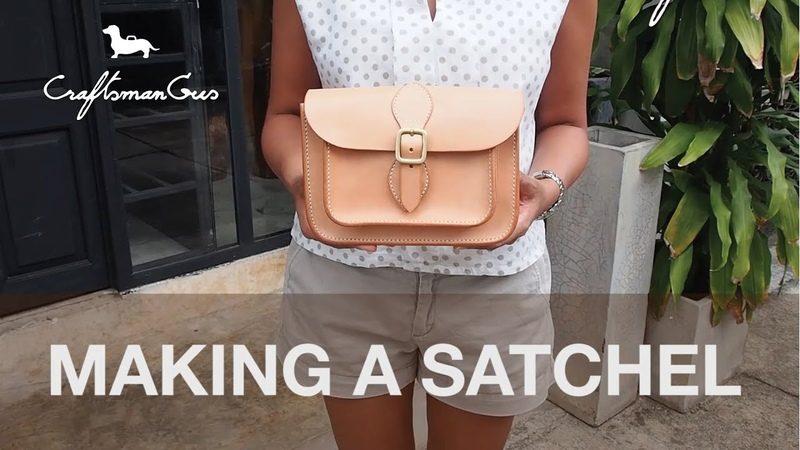 Making Satchel Bag LeatherAddict EP16