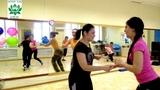 Фитнес в парах.Фитнес тренировки, тренер Евгения Закирова #фитнесклублотосомск #фитнесомск