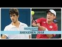 テニス 深セン2018 Yoshihito Nishioka 西岡義仁 vs Pierre Hugues Herbert Highlights Shenzhen 2018
