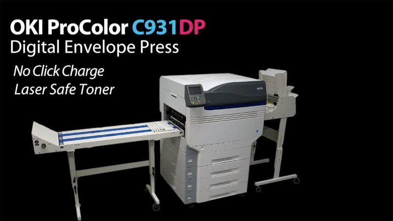 Oki C931DP Digital Color Envelope Press