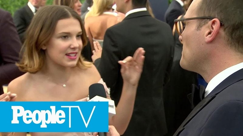 Millie Bobby Brown Stranger Things Season 2 Scene Shes Most Proud Of | Emmys 2018 | PeopleTV