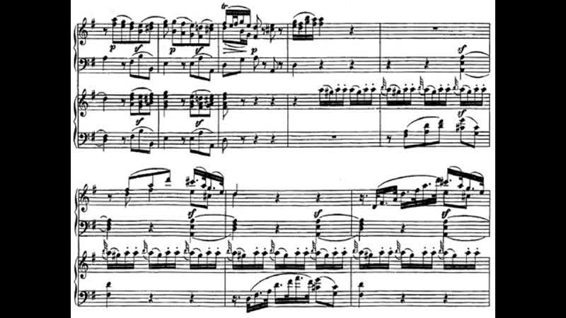 Kocsis Ránki Mozart Sonata for Two Pianos in D K448