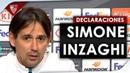 Inzaghi El Sevilla se va a encontrar a una Lazio con personalidad