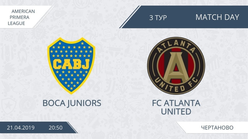 AFL19. America. Segunda. Day 4. Boca Juniors - FC Atlanta United