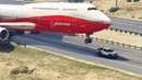Giant Air Plane Emergency Landing on Highway Two Engines Failed GTA 5 Crazy Moments