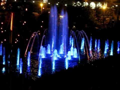 Шоу Поющий фонтан, г. Иваново Show Singing Fountain in Ivanovo, Russia