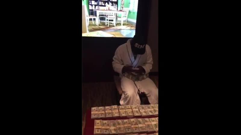 🎬Мейвезер опубликовал видео с кучей денег 💰