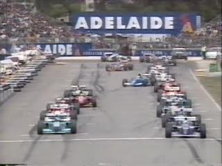 F1 1994. гран-при австралии. этап 16 из 16. гонка
