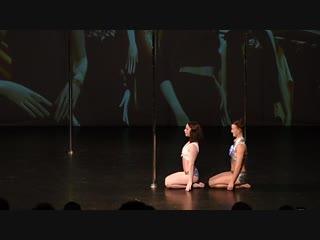 Кряжева-Черная Полина, Васильева Дарья. Шоу Transformation - Pole Dance Style