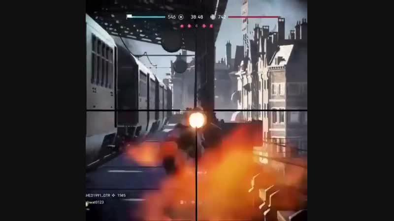 [Норка Орка] 4 kills 1 bullet
