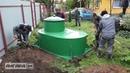 Монтаж автономной канализации Alta Bio