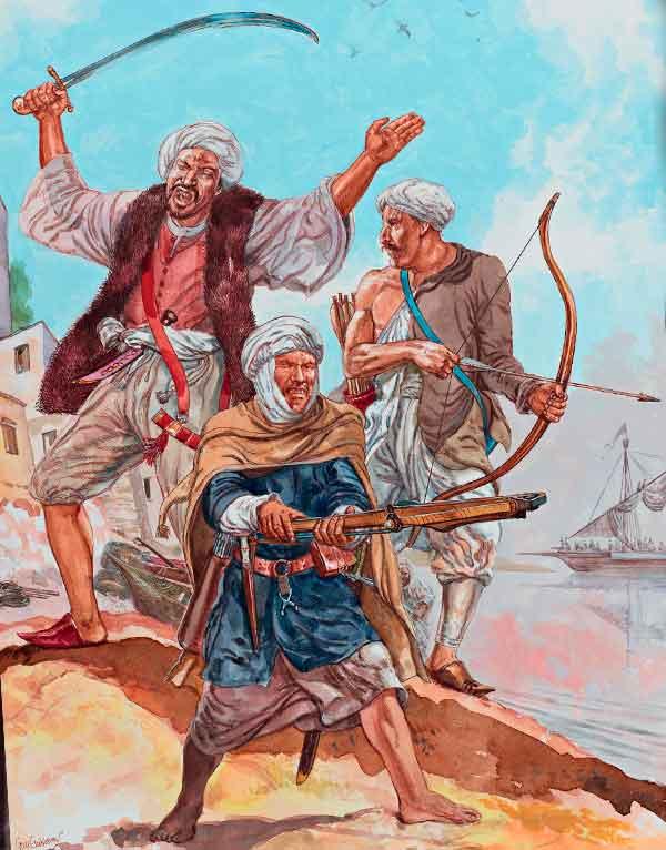 Берберские пираты