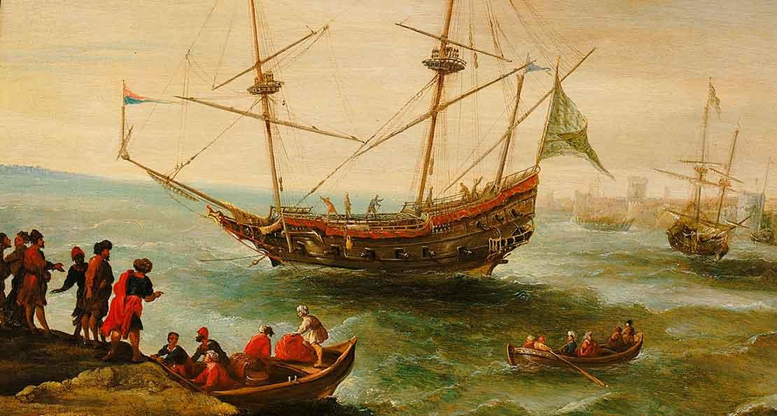 Корабли пиратов