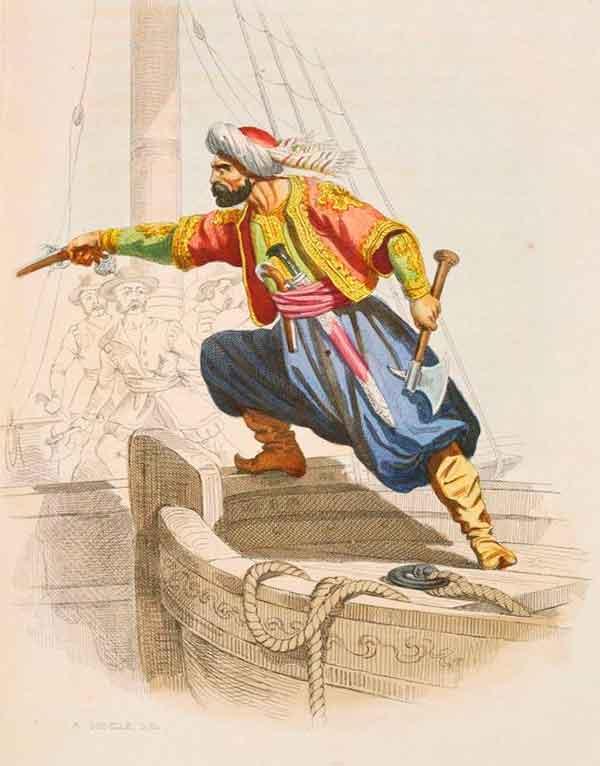 Мусульманский пират