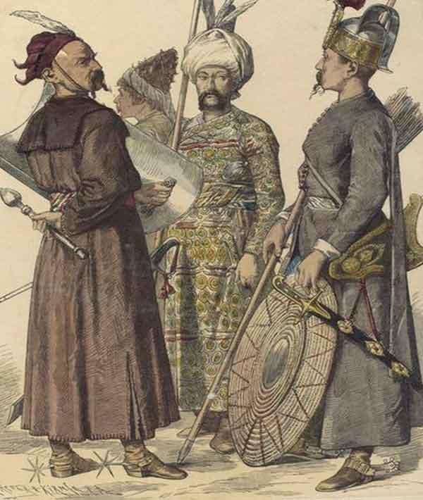 Турецкие воины