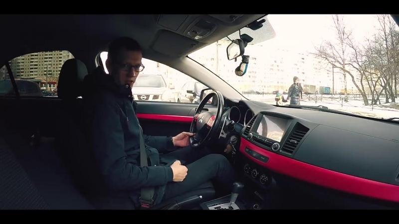 Яркий и чёткий Lancer X за 400 тысяч рублей