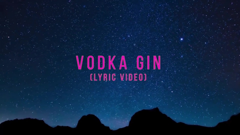 Maximilian Tux Antoine Russo Rebecca Raso - Vodka Gin (Lyric Video)