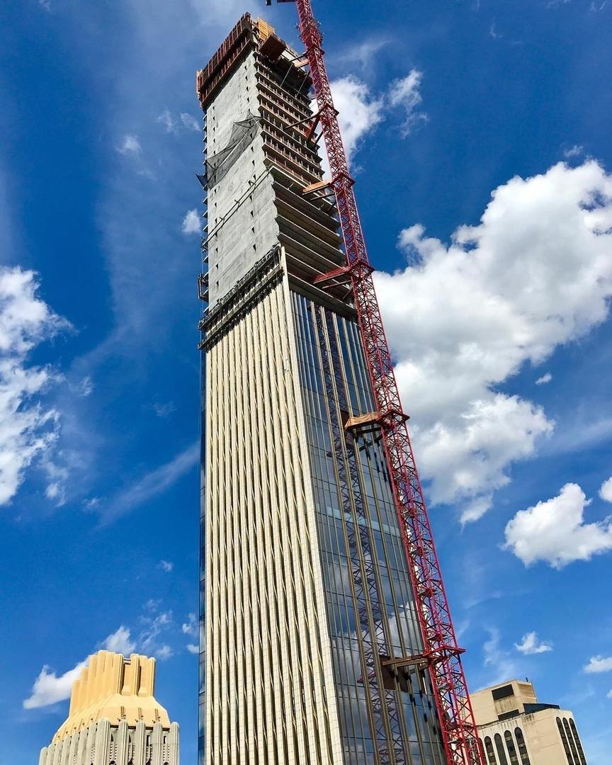 Инерционные демпферы в современных высотных зданиях