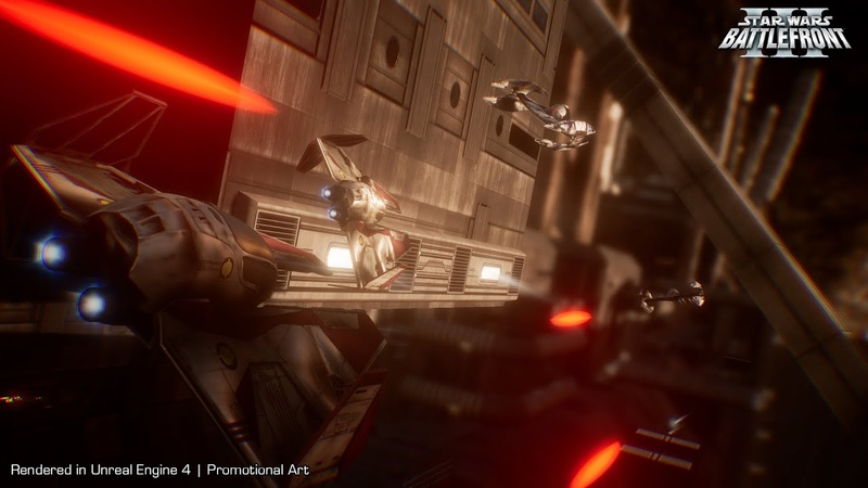 Star Wars Battlefront III Assault Gameplay and Dynamic Frigate Destruction