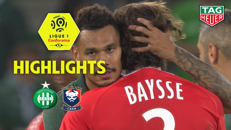 AS Saint-Etienne - SM Caen ( 2-1 ) - Highlights - (ASSE - SMC) / 2018-19
