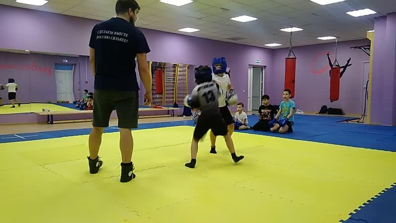 Тренировочный спарринг - 2