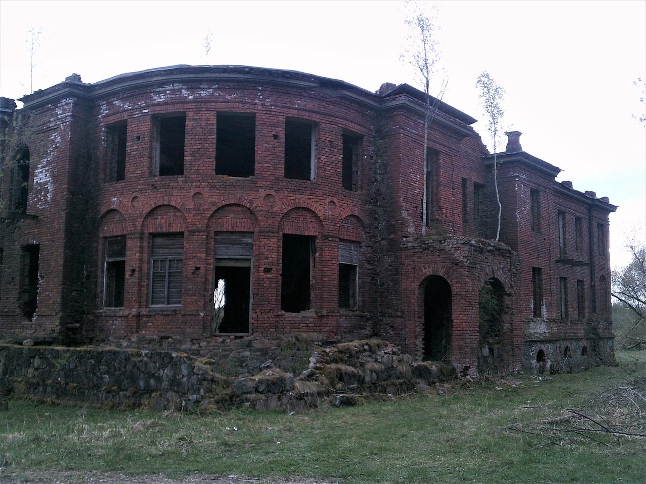 Забытая усадьба Кострони, Новгородская область