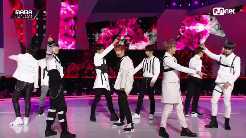 [PERF] 101218 Stray Kids x THE BOYZ – MY PACE OUTRO @ 2018 Mnet Asian Music Awards