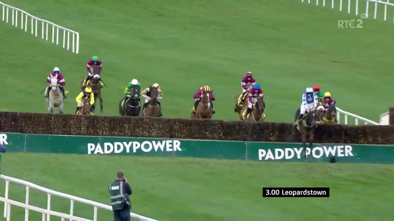Kemboy wins the Grade One Savills Chase at Leopardstown