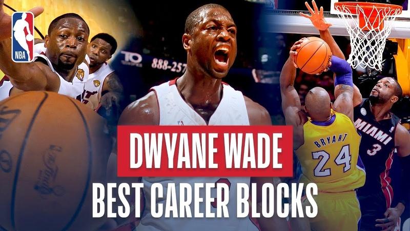 Dwyane Wade Best Career Blocks