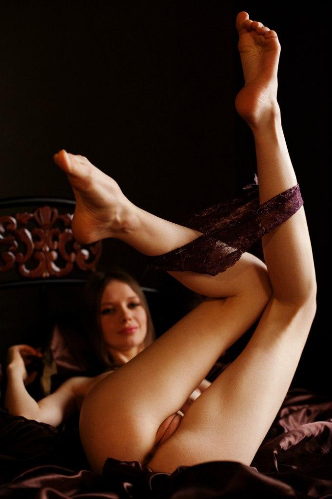 Sexy long leg in high heel