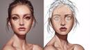 Face painting iPad procreate