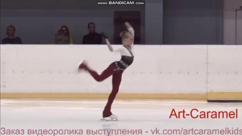 Александра Княжева КП КМС 2 этап Кубка Санкт-Петербурга 2018