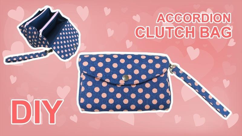 다용도 손목지갑 | 핸드폰 파우치 만들기 | DIY clutch bag 소잉타임즈