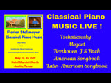 CLASSICAL PIANO MUSIC LIVE! from the Hotel Marriott in Austin, Texas (May 25, 2019) # 1