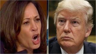 Trump Calls For End To S-ex Trafficking & C.artels At Border, Kamala Pulls Sick S-tunt