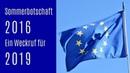 Sommerbotschaft 2016 – ein Weckruf auch für 2019 – Hoffnung und Reformen für Europa und Deutschland
