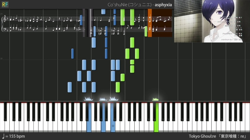 Tokyo Ghoul:re Opening - asphyxia (Synthesia)