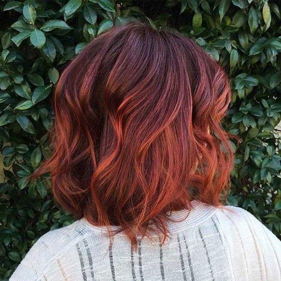 Модные оттенки каштанового цвета волос 2019-2020