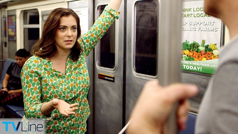 Rachel Bloom Talks 'Crazy Ex-Girlfriend' Final Season on Train | TVLine's Tube Talk