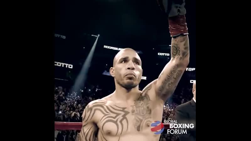 Мигель Котто на Global Boxing Forum