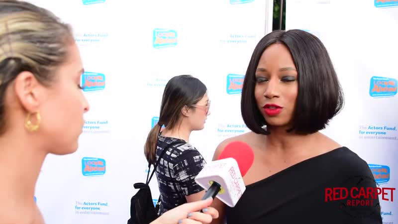 Monique Coleman interviewed at the Actor's Fund 2018 LookingAheadAwards