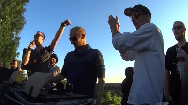 Boris Brejcha B2B Ann Clue - Smiling Sun Open Air (Stockholm, 2016)