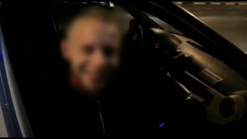 В Белгороде нетрезвый водитель пытался скрыться после аварии