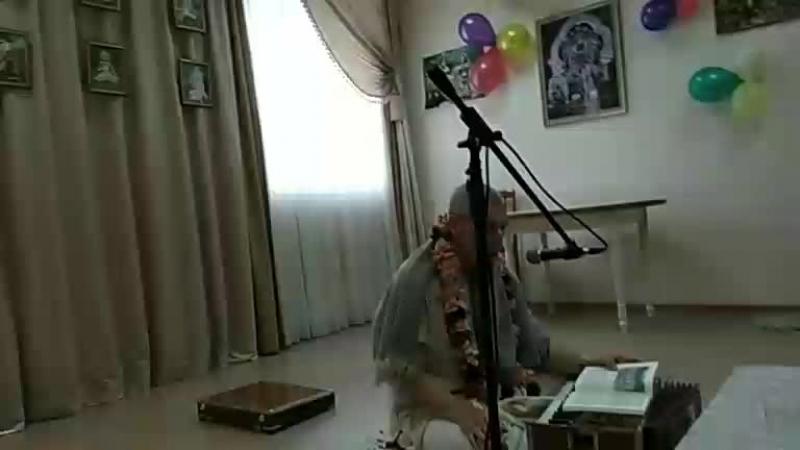 Манибандха прабху, вайшнавский этикет