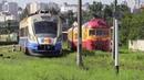 Дизель поезда Д1 706 798 и Д1М 004 D1 706 798 and D1M 004 DMU s