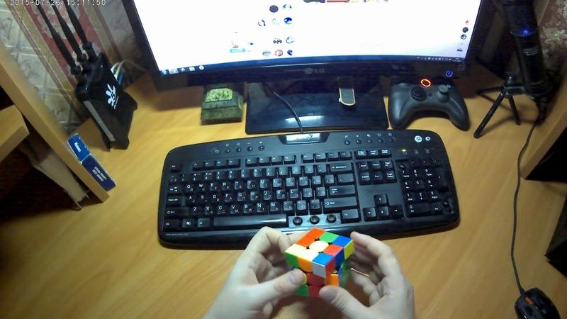 Rubik's Cube Solve 55 sec